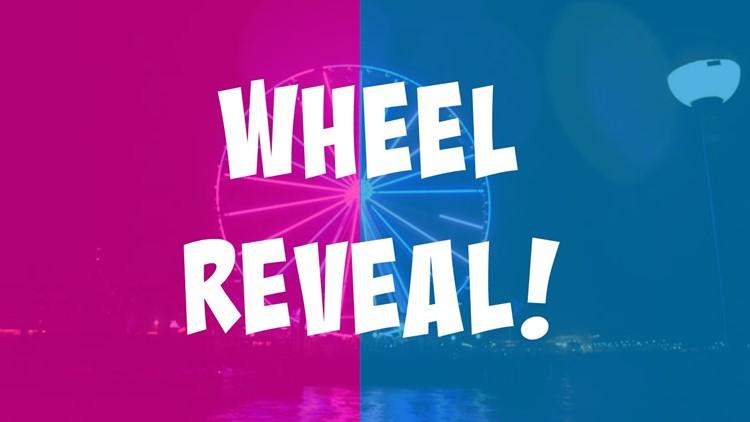 Wheel reveal