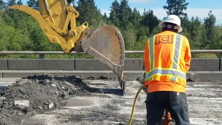 WB US 2 to be closed this weekend between Everett, Snohomish