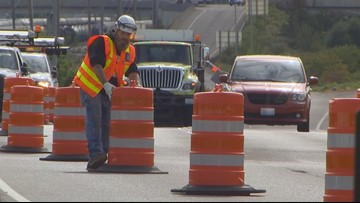 'Stay off your cell phones': WSDOT crews frustrated with crashes in work zones