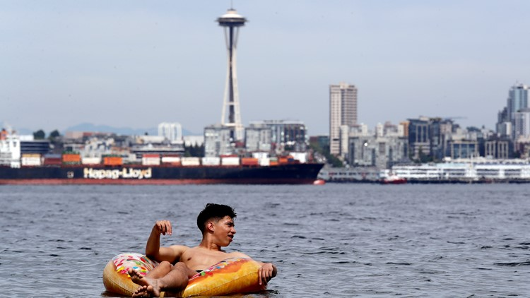 Seattle hit record 95 degrees on Wednesday