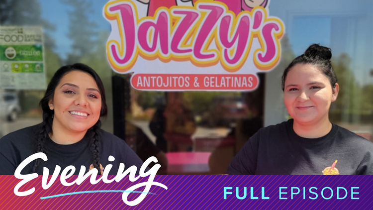 Jazzy's Antojitos y Gelatinas in Renton & Pierce County Seniors Connecting with Senior Citizens | Full Episode - KING 5 Evening
