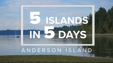 5 Islands in 5 Days: Anderson Island