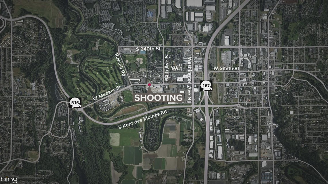 1 killed, 2 injured in Kent shooting