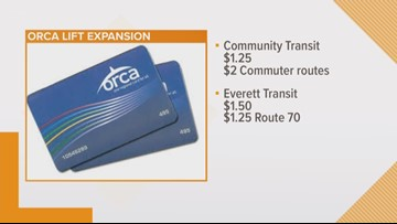 ORCA LIFT expands to Snohomish County