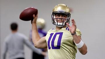 No. 13 Huskies name Jacob Eason starting quarterback