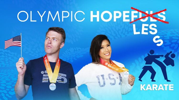 Olympic Hopeless: Jake and Mimi try karate