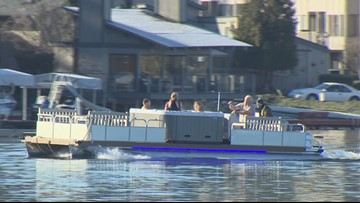 New hot tub boat spotted in Spanaway