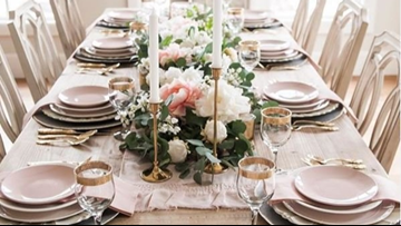 Take your table to the next level with these decorating tips