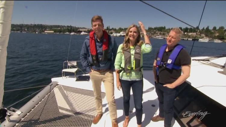 Mon, 7/22, Evening Boat on Lake Union, Full Episode, KING 5 Evening