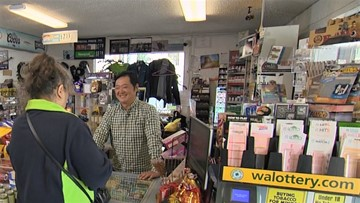 Washington's Lottery helps Des Moines convenience store give back