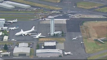 Alaska Airlines delays  Paine Field service due to government shutdown