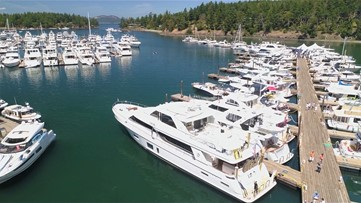 One of the best marinas on the West Coast is in Washington
