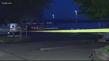 Suspect in early-morning Tacoma shooting still at large