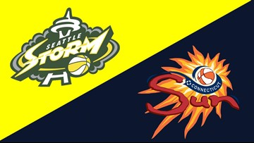 Stricklen, Sun rally to beat Storm 79-78