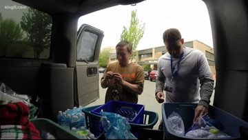Homeless outreach in Bellingham