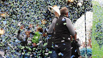 Seattle celebrates championship Sounders in epic fashion