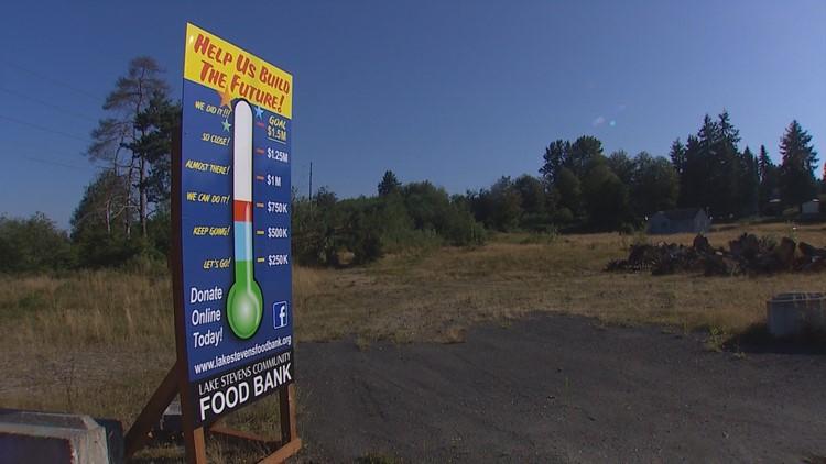 Lake Stevens food bank fundraises to build new facility