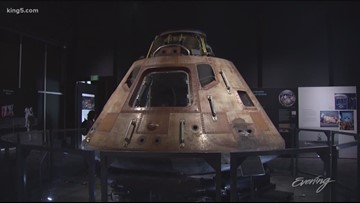 Destination Moon: The Apollo 11 Mission splashes down at the Museum of Flight - KING 5 Evening