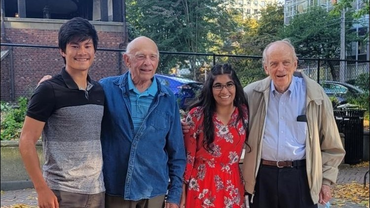 High school seniors befriend senior citizens in Pierce County mentorship program