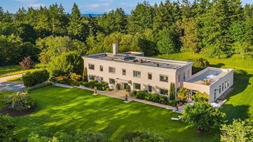 This beautiful Bainbridge Island estate for sale was once a top-secret military building - Unreal Estate - KING 5 Evening