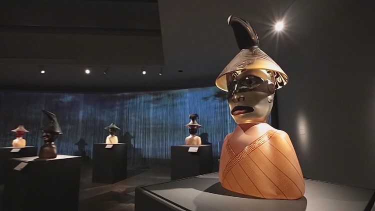 Seattle artist pulls inspiration from his ancestors for upcoming exhibit at The Smithsonian - KING 5 Evening