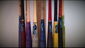 Sequim family aims for the big leagues with Tsunami Bats - KING 5 evening