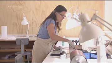 At the Bainbridge Artisan Resource Network, you can learn everything from textiles to woodworking - KING 5 Evening