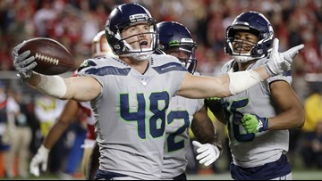 Report: Seahawks give 2nd round tender to TE Hollister