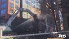 Raw: Crews tear down Seattle viaduct