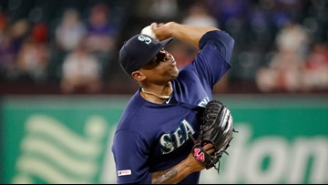 Mariners send Elias, Strickland to Nationals, Leake to D-backs