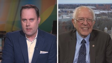 Bernie Sanders tells KING 5: 'The differences between Joe and me are fairly clear'