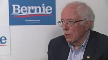 Presidential candidate Sen. Bernie Sanders speaks one-on-one with KING 5