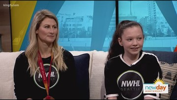 Olympic medalist helps spearhead campaign to bring pro women's hockey to Seattle - New Day Northwest