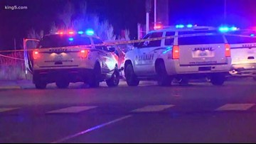 One person shot after chase in Pierce County