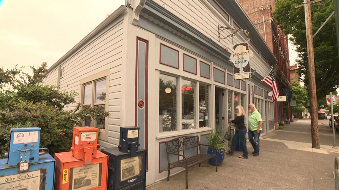Port Townsend ice cream spot with a sweet history