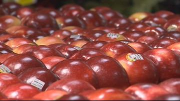 First delivery of Cosmic Crisp apples arrives at Seattle QFC