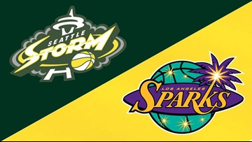 Storm beat Sparks 84-62 in coach Hughes' return