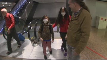 Bellevue boy stranded in China arrives home amid coronavirus outbreak