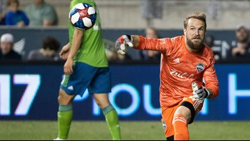 Stefan Frei records 6 saves in scoreless draw with Union
