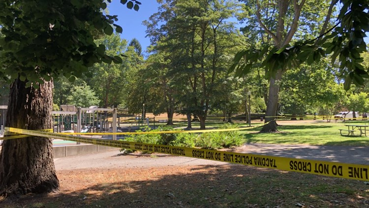 Tacoma police investigating two different homicides Saturday, one victim found in Wright Park