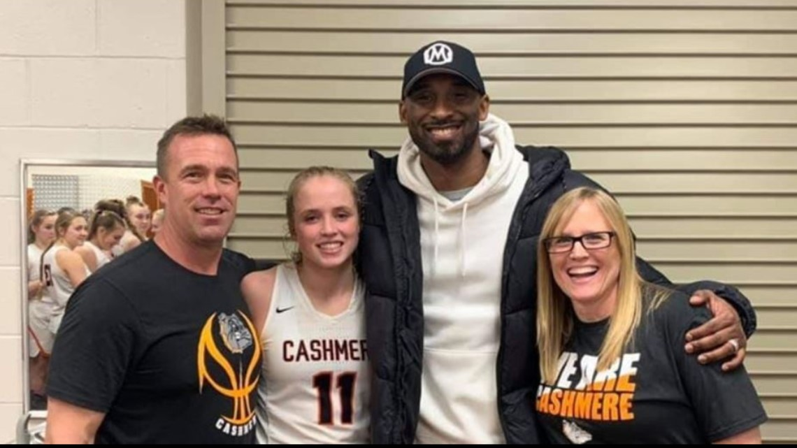 'I'll carry out what he saw in me:' Cashmere hoops star remembers mentor Kobe Bryant