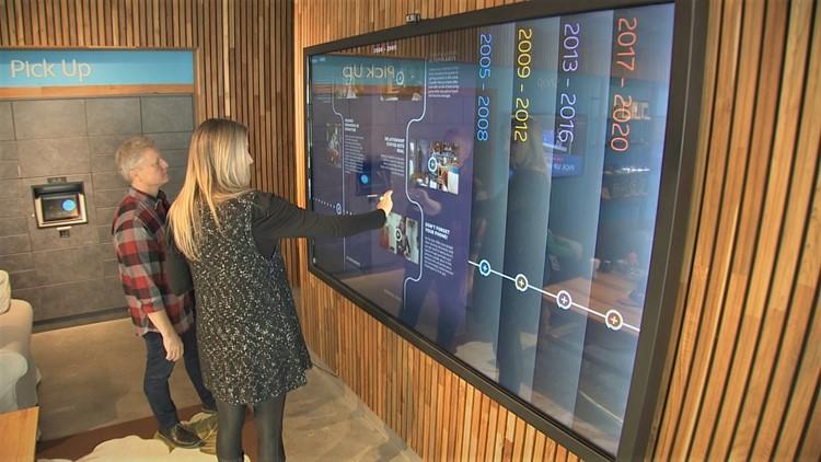 Digital experience at Central Perk