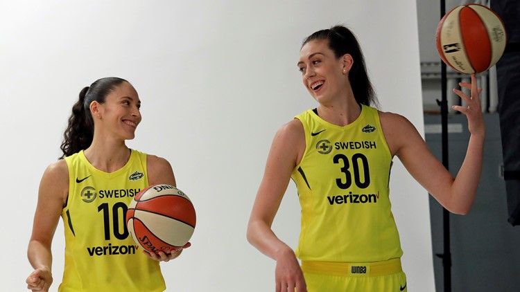 WNBA champs Bird, Stewart make freezing eggs less taboo