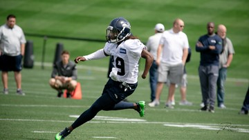 huge discount 55167 b4cde Seahawk Shaquem Griffin makes Rookie Camp debut | king5.com