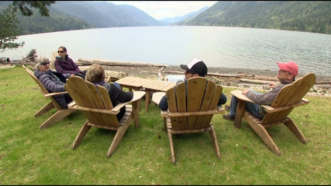 You can visit scenic Lake Crescent without spending a dime - KING 5 Evening