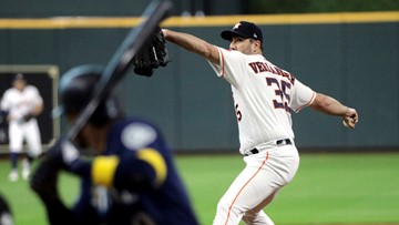 Verlander gets MLB-best 18th win as Astros down Seattle 2-1