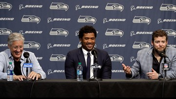 Jody Allen credited for role in Russell Wilson's contract extension | Geekwire