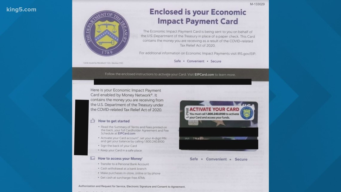 Are Economic Payment Cards valid forms of stimulus money?