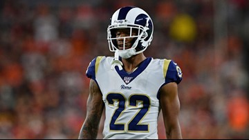 Rams trade CB Marcus Peters to Baltimore