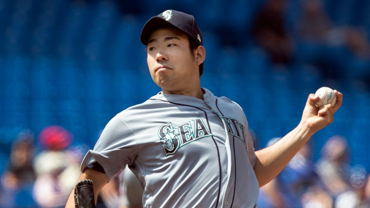 Yusei Kikuchi throws his 1st MLB shutout as Mariners top Blue Jays 7-0